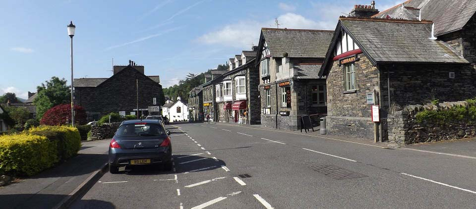 Coniston Main Street view