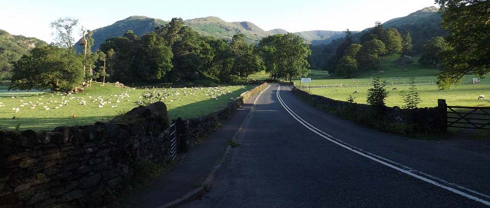 Rydal Road by Ambleside