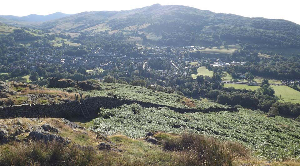 Ambleside from Todd Crag Hill