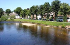 River Eden in Appleby