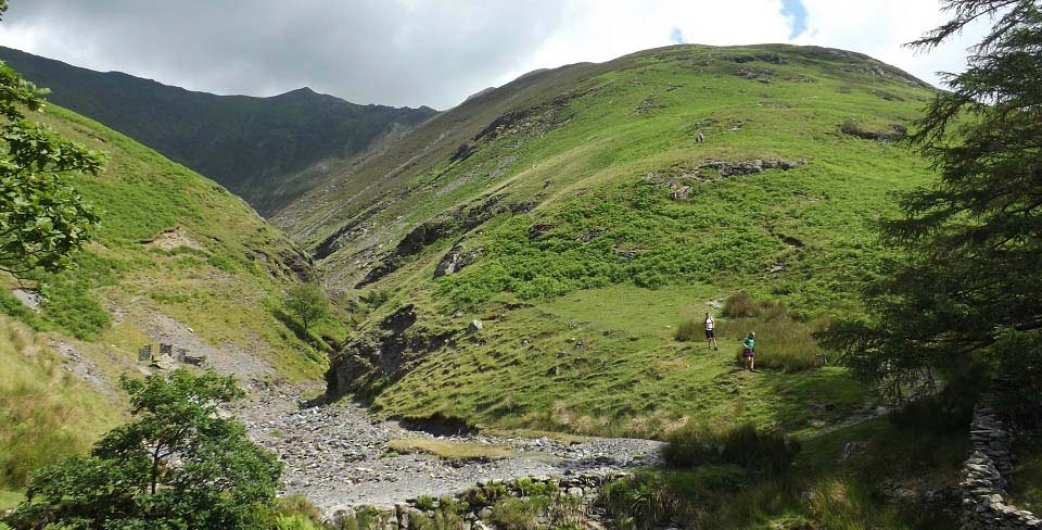 Blencathra Halls Fell route image