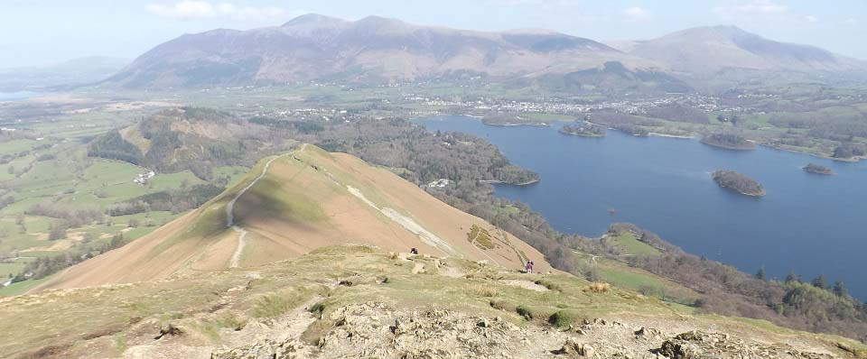 Catbells view north image