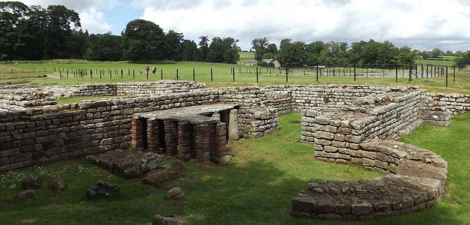 Chesters Roman Fort image
