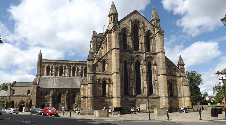 Hexham Abbey front image
