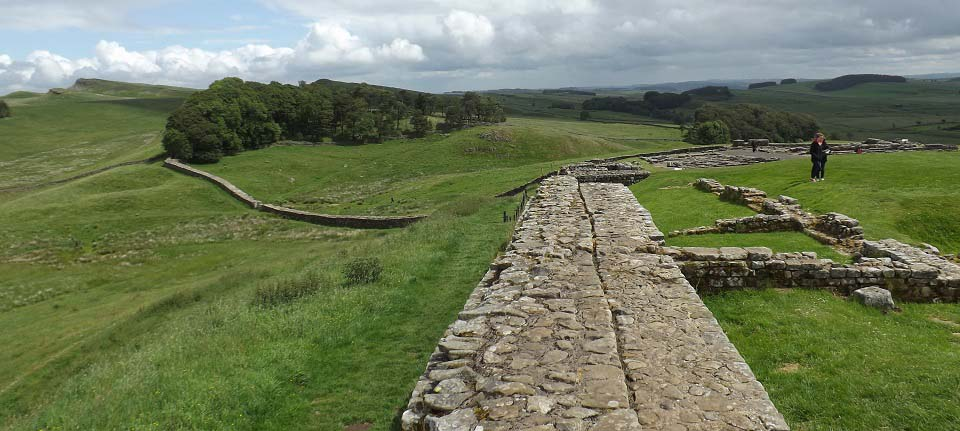 Housesteads Hadrians Wall image