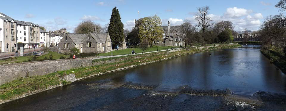 Kendal from the River Kent Bridge image