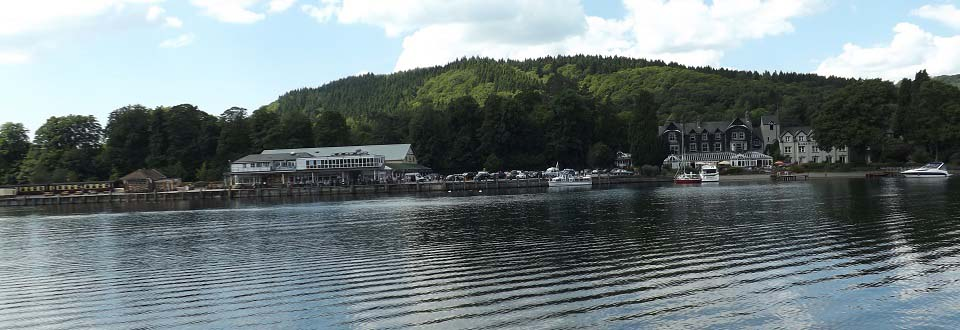 Lakeside Lake Windermere Cumbria image