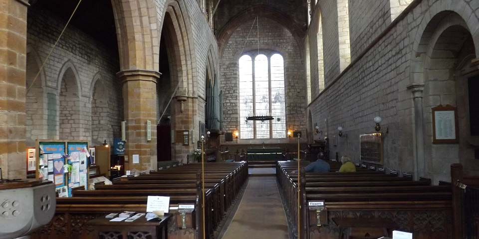 Lanercost Priory Nave image