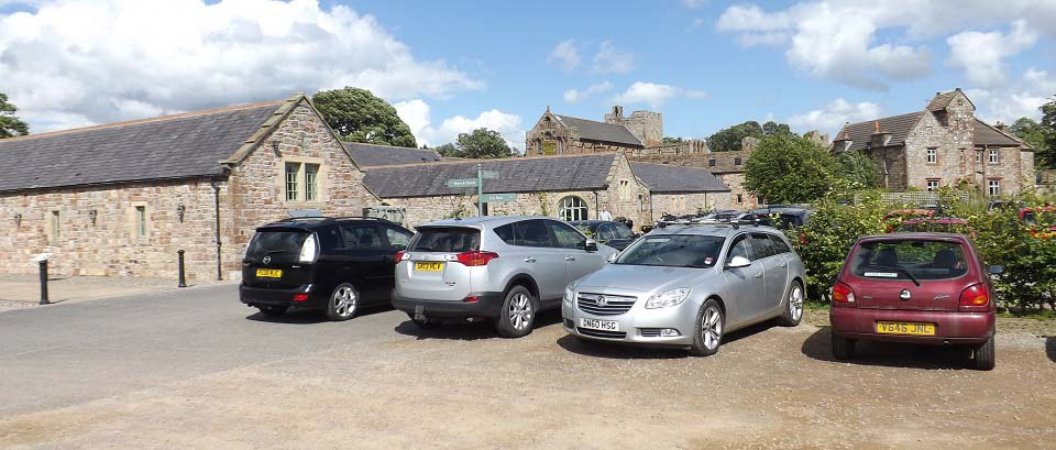 Lanercost Priory Parking image