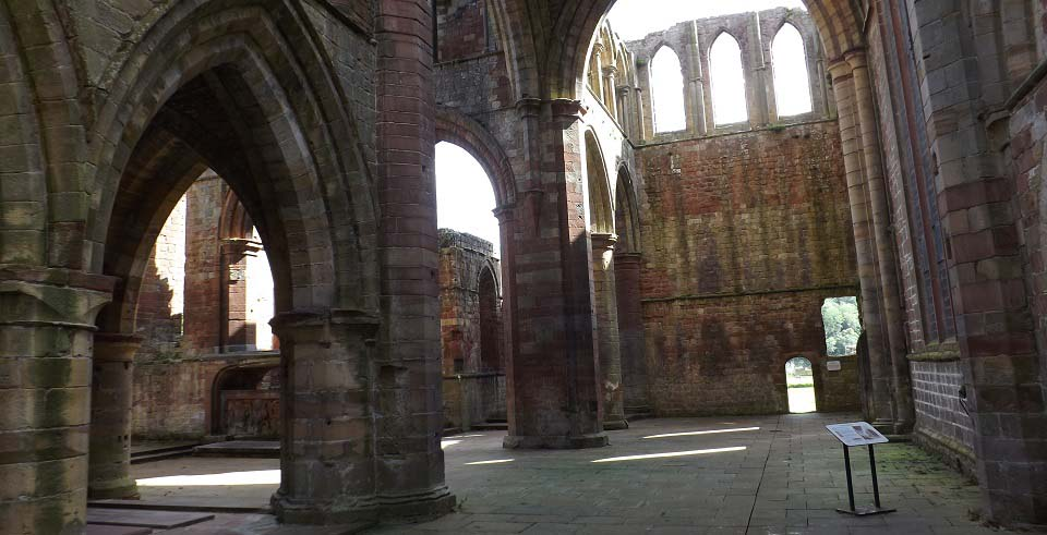 Lanercost Priory interior image