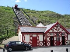 Saltburn Cliff Lift bottom