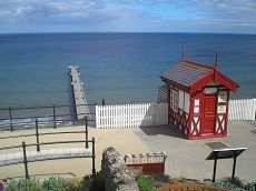 Saltburn Cliff Lift top