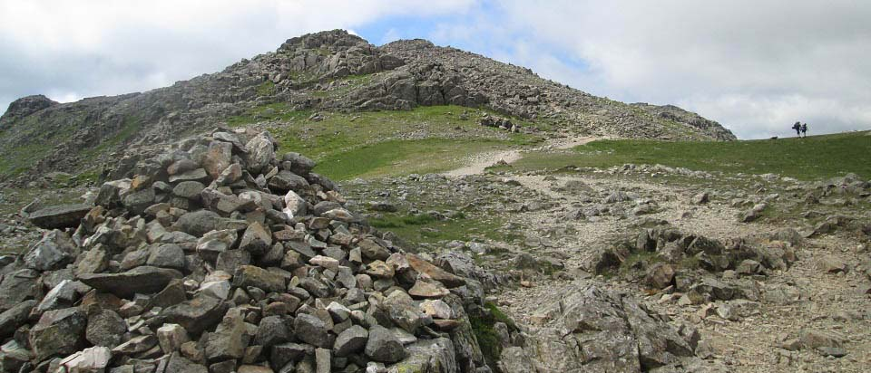 Scafell Pike boulder field image