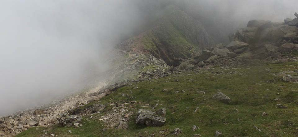 Scafell Pike tough route image