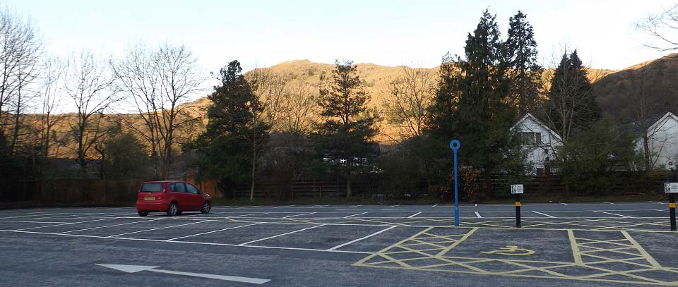 Silver How Grasmere Car Park image