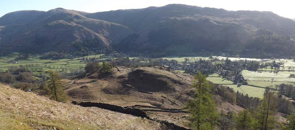 Grasmere from fells image