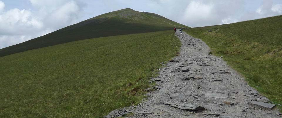 Skiddaw south route image