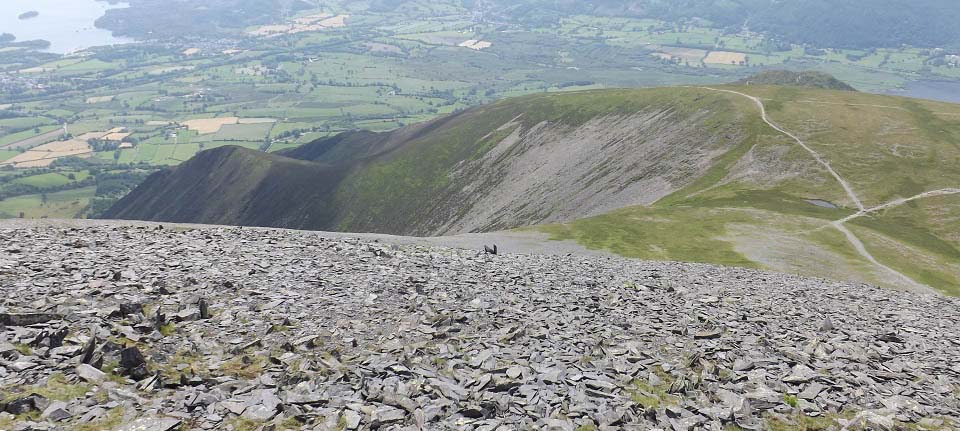 Skiddaw Millbeck route image