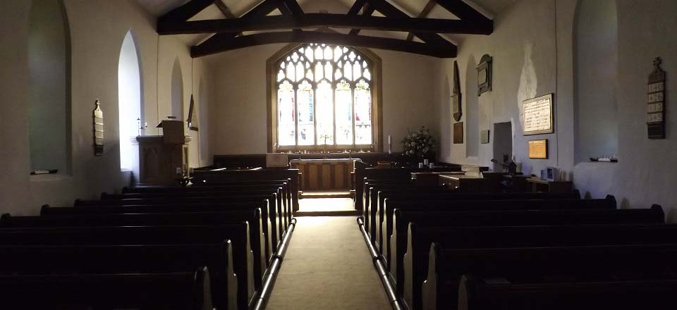 Troutbeck Jesus Church interior image