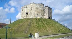 York Castle Cliffords Tower